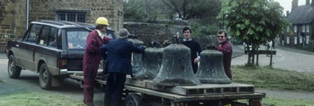 Church Bells off for Restoration, 1981