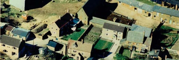 1960s Aerial Photo of Blacksmiths Lane & Mannings Farmyard