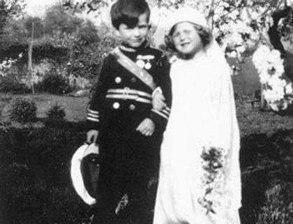 Joe Tyrrell & Hope Walker as Royal Couple 1930s