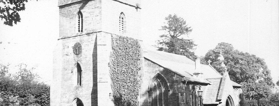 St Nicholas Church, Eydon, 1898