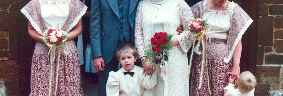 Carolyn Allen's Wedding, 1978