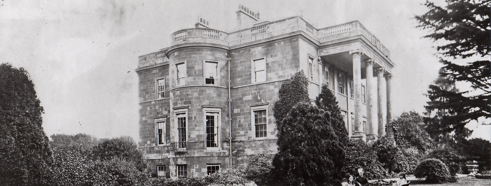 Tea Party at Eydon Hall 1868