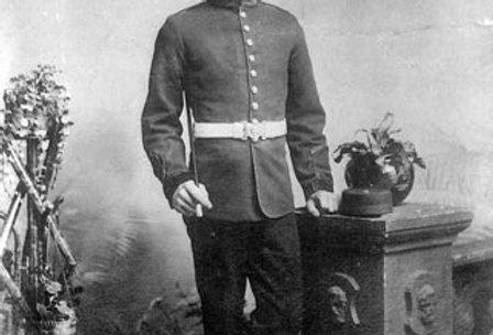 Albert Shurvinton in his Royal Engineer's Uniform