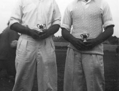 Ernie Hogg and Syd Gooden