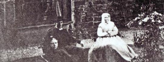 Ivens Family in Garden of Rectory Farmhouse, 1868