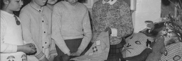 Handiwork at the Last Days at Eydon School, 1968