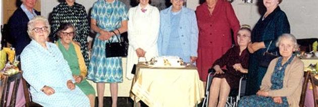 Eydon WI Celebrate Their Golden Jubilee, 1974