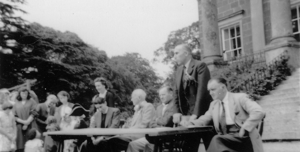 Top Table at an Eydon Hall fete, 1960s