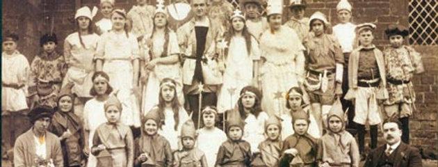 Eydon School Play 'Lollypop Land', Full Cast, 1921