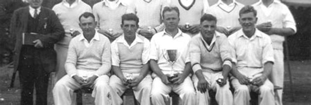 Yet another Cup for Eydon Cricket, 1952