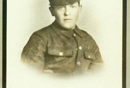 Private F Cleaver, WW1 Memorial Board