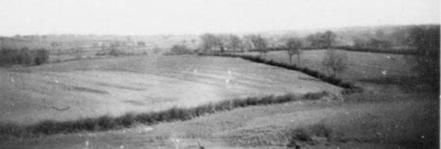 Ridge & Furrow Fields to East of Village