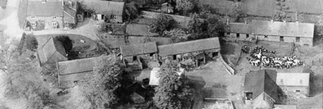 Hall Farm from the Air