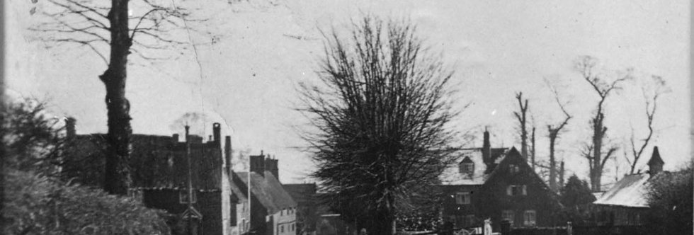 Hollow Way and School Lane, 1920s