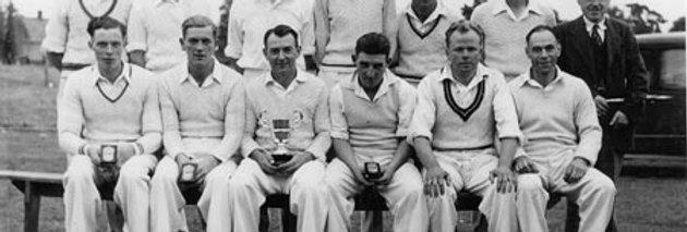 Eydon Cricket Club, 1951, League Runners Up