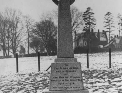 War Memorial Cross, 1921