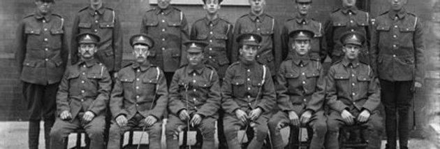 Group of Royal Artillery Recruits, c1915