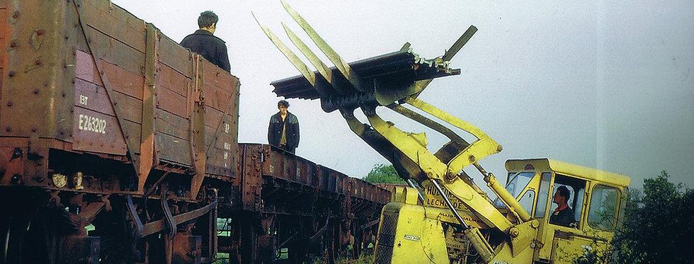 Dismantling the Railway c. 1965