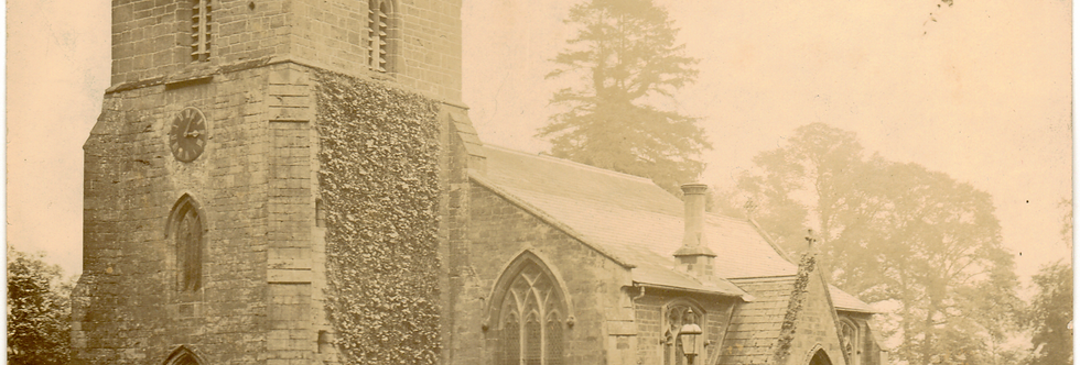 Eydon Church, c 1890 - 1915
