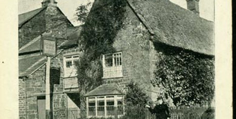 Landlady outside Royal Oak