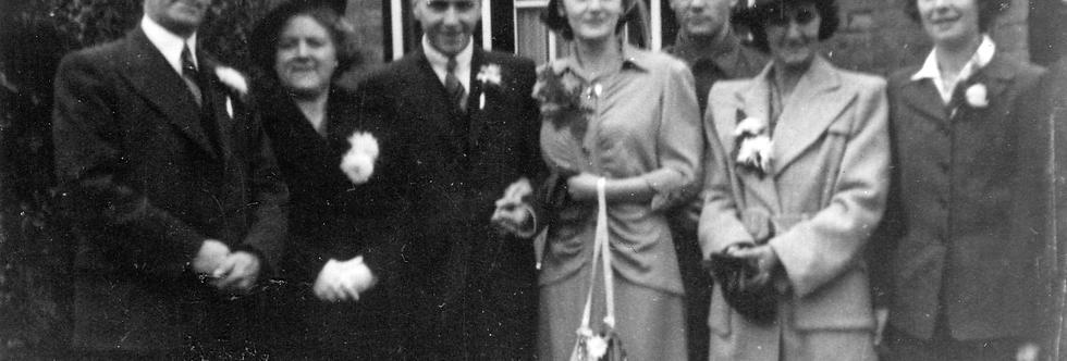Ken Edwards Wedding Group, 1944