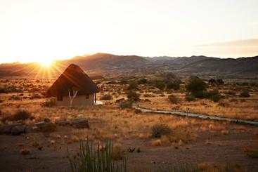 Sunrise at Sandfontein