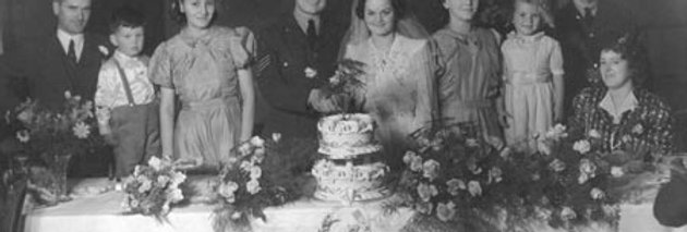Wedding Reception, Village Hall, 1941