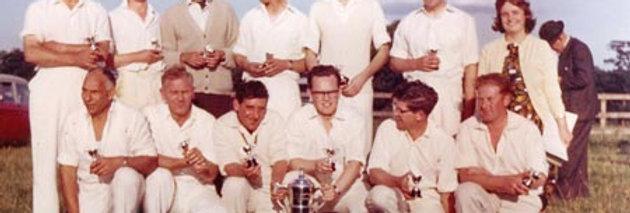 Eydon Cricket Club Win Peter Strong Cup 1965