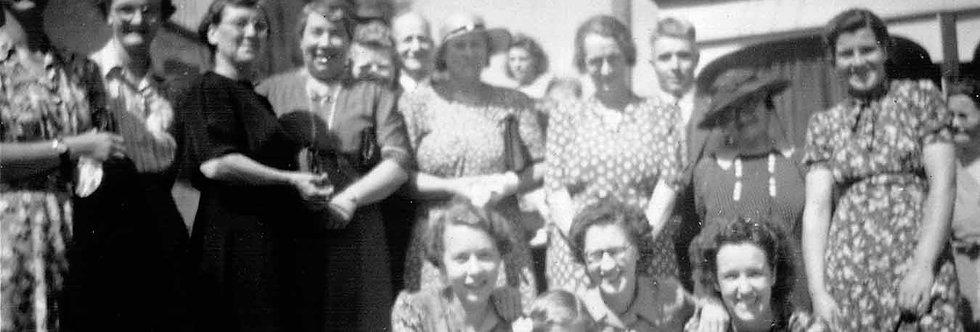 Wye Valley Tour 1947, Ladies Group