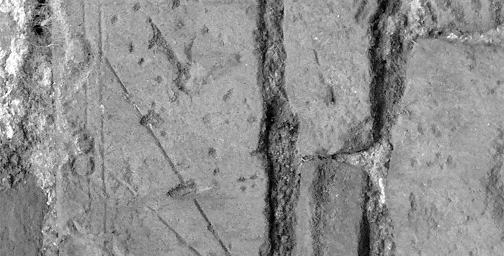 Fragment of Dial, Partridge Lane