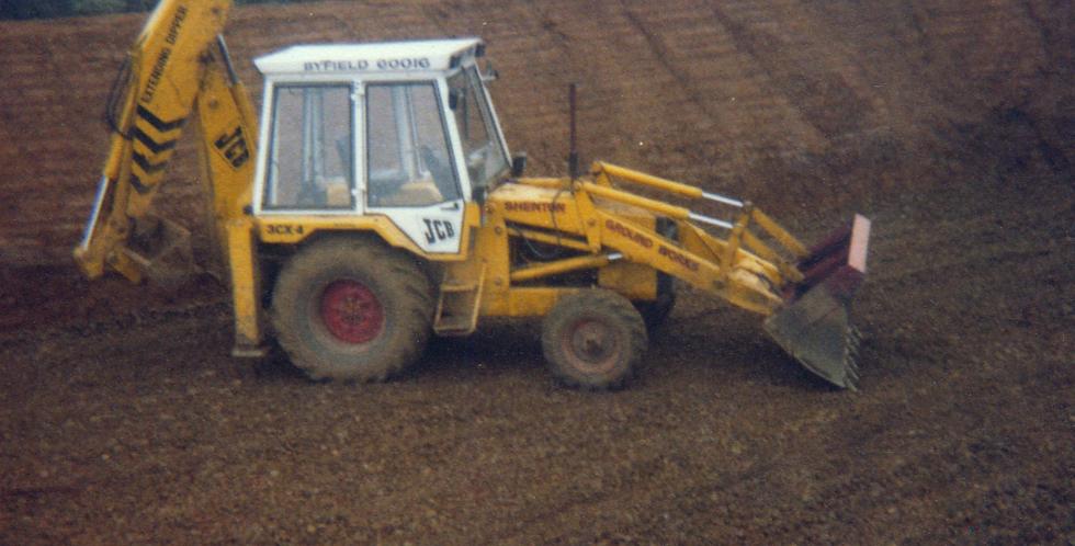 Making a Silage Clamp, Preston Road,1979
