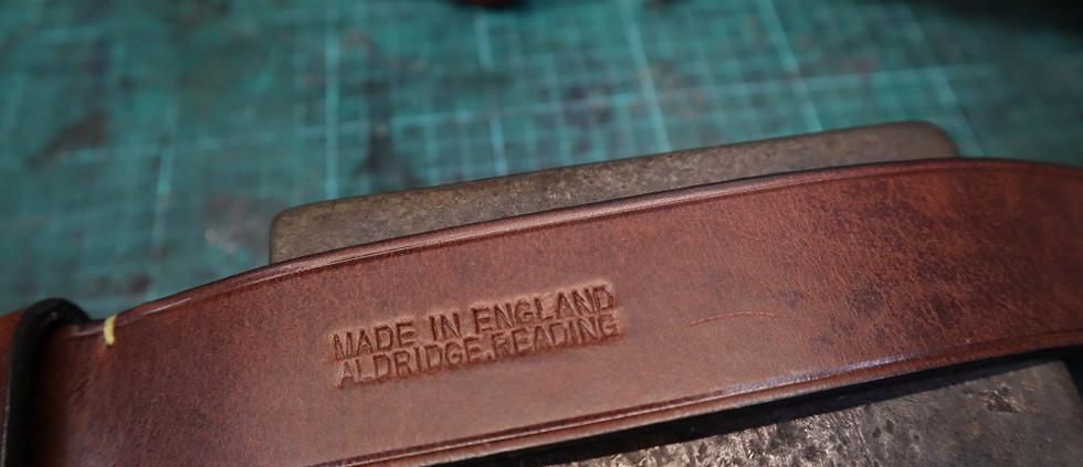 The original 'Aldridges' stamp