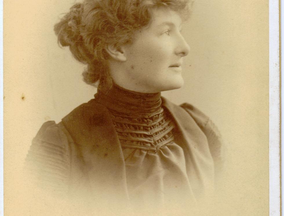 Sarah Weston (nee Main), c 1889