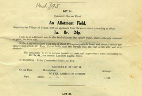Catalogue, Sale of Eydon Estate 1925, Page 15