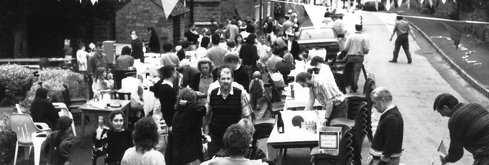 Street Party, Queen's 40th Anniversary, 1992