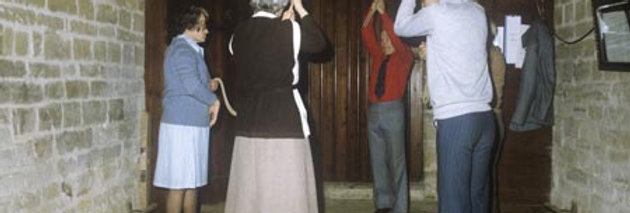 More Bell Ringers at St Nicholas Church, 1981