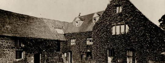 Back Courtyard of Rectory Farmhouse, 1868