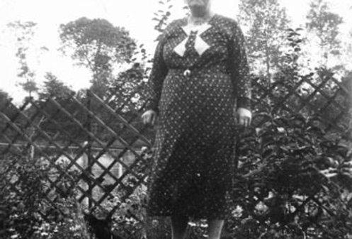 Emily Bishop in a Garden