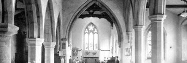 Interior, St Nicholas' Church c1940s