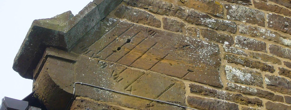 England's Earliest East-facing Domestic Sundial, Clearview