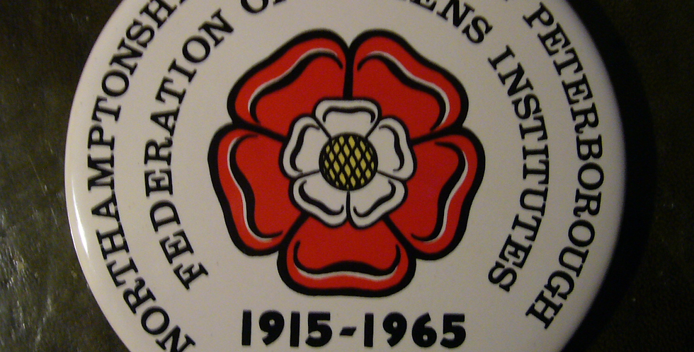 Northants WI Federation Jubilee Plaque, 1965