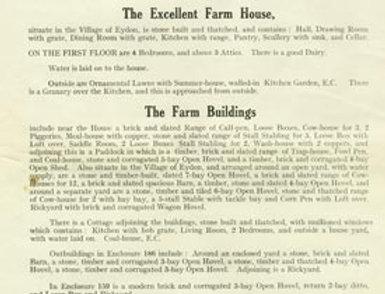 Catalogue, Sale of Eydon Estate 1925, Page 4
