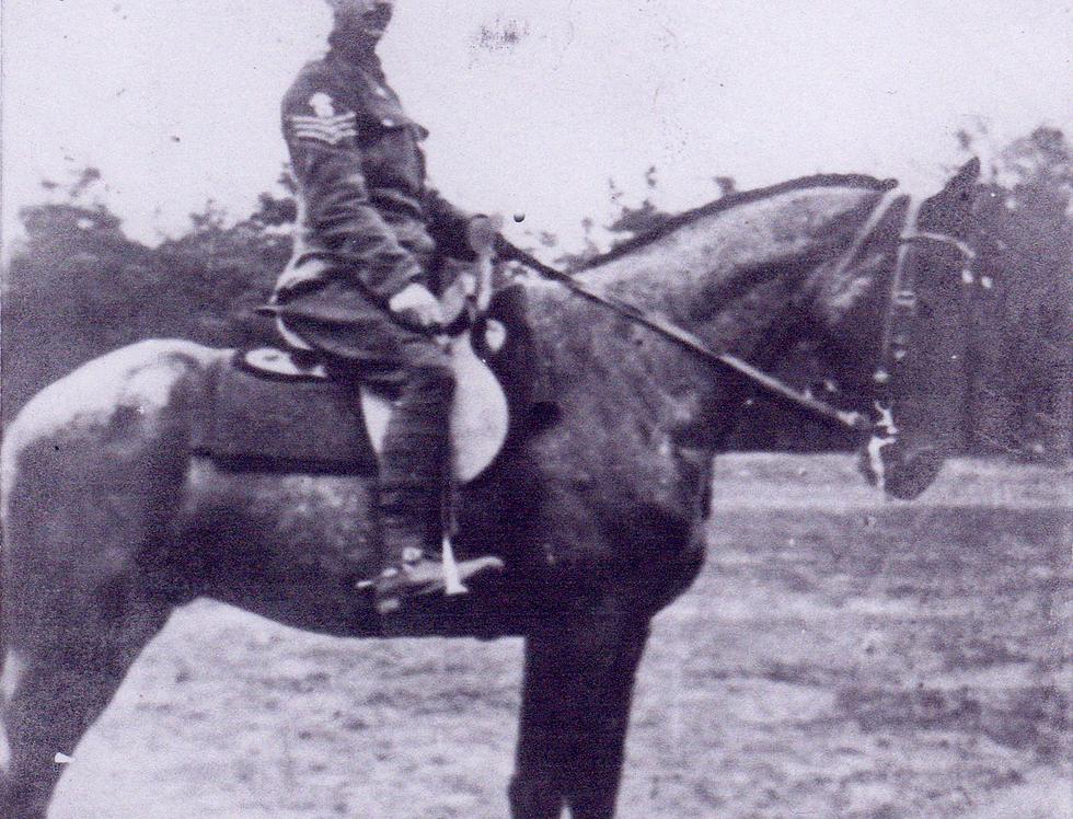 George Valentine Harding - Sergeant Farrier