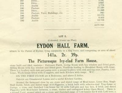 Catalogue, Sale of Eydon Estate 1925, Page 5