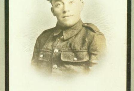 Private H Bull,  WW1 Memorial Board