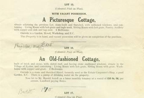 Catalogue, Sale of Eydon Estate 1925, Page 11