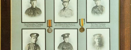 First World War Memorial Board, Village Hall