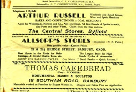 Wartime Parish Magazine, Cover