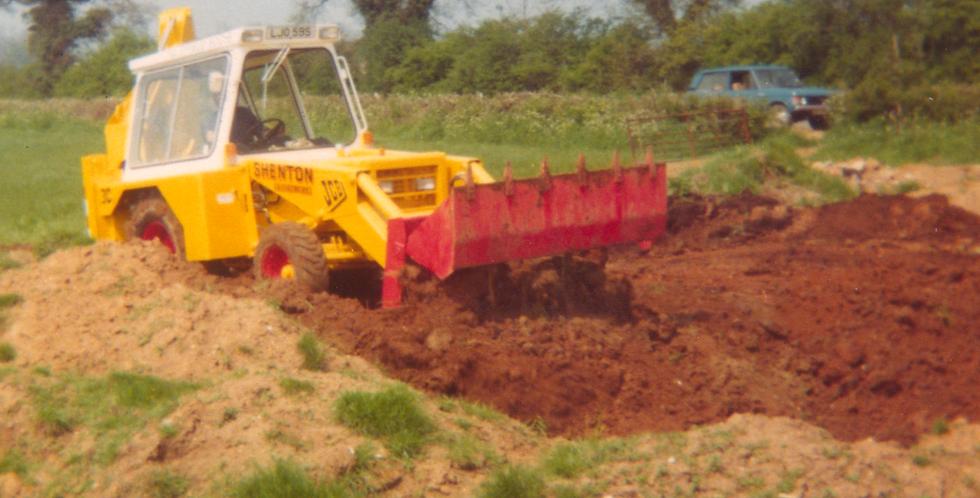 Levelling Ground, Moreton Road, 1978