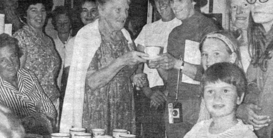 Welcome cup of tea for Byfield WI